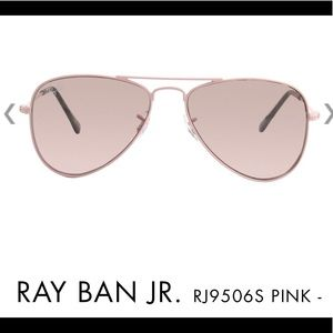 RAY BAN JR. RJ9506S PINK